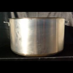Marmite inox 100 l
