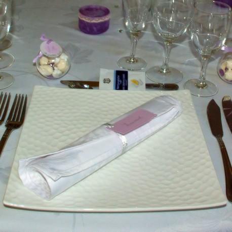 Assiette carrée écaille 26x26 cm