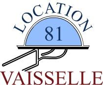 Location Vaisselle 81 - matériel de réception sur Albi, Carmaux, Castres et Rodez